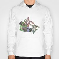 canada Hoodies featuring Canada by minouette