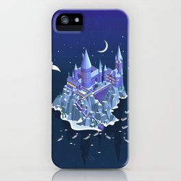 Hogwarts series (year 1: the Philosopher's Stone) iPhone Case