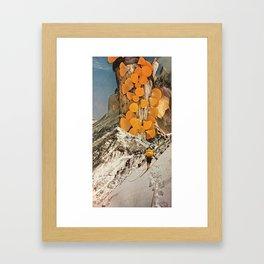 Pillar of Captured Sunlight Framed Art Print