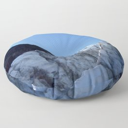 Glacier Sun Floor Pillow