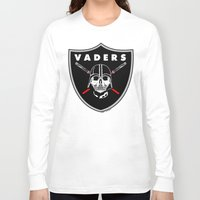 oakland Long Sleeve T-shirts featuring Oakland Vaders by Ant Atomic