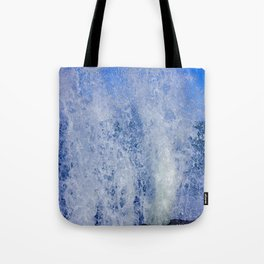 Lake Michigan Natural Fountains #3 (Chicago Waves Collection) Tote Bag
