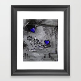 Purple Passion Manufacturing Company Framed Art Print
