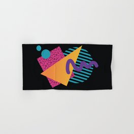 Memphis Pattern 29 / 80s - 90s Retro Hand & Bath Towel