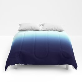 Nautical Blue Ombre Comforters
