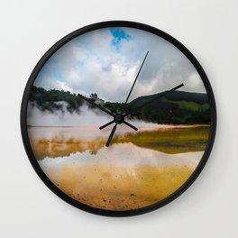 Earth's Wrath Wall Clock