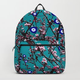 Cherry Blossoms Evil Eyes Backpack