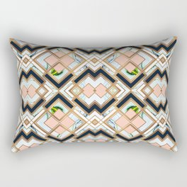 Art deco geometric pattern Rectangular Pillow