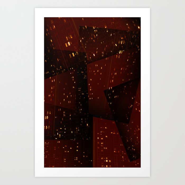 Cities and Desire Art Print