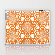 Paper Cuts Orange Laptop & iPad Skin