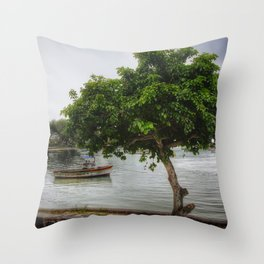 Cap Malheureux, Mauritius Throw Pillow