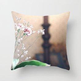 Fragile Coziness  Throw Pillow