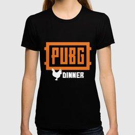 PUBG PlayerUnknown_s Battlegrounds Winner Chicken Dinner LMS Funny chicken T-shirt
