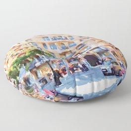 La Pedrera Barcelona Floor Pillow