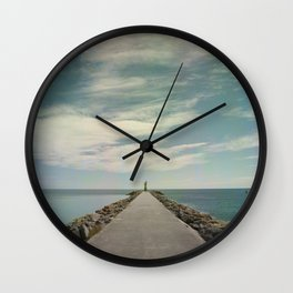 Long way to go Wall Clock