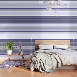 Mariniere marinière – classical pattern Wallpaper