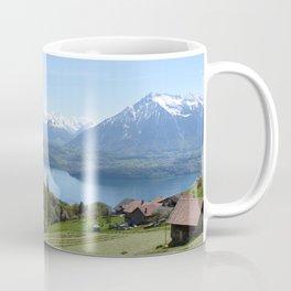Lake Thun Bernese Oberland Switzerland Coffee Mug