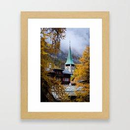 Zermatt, Switzerland Framed Art Print
