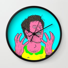 Table Tennis Mad Part 2 Wall Clock