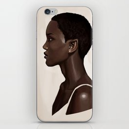 Elf Portrait iPhone Skin
