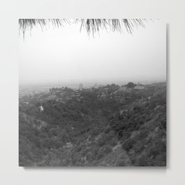 View from Griffith Observatory Metal Print