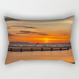 Sunset Seascape Rectangular Pillow