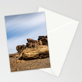 Rocky Landscape  in the coast of Brittany III Stationery Cards