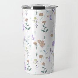 Tulum Floral 4 Travel Mug