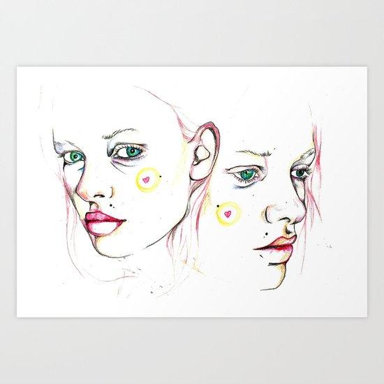 Sketchy Art Print