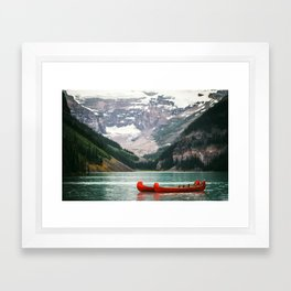 Kayak Canada Framed Art Print