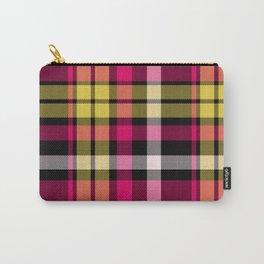 Tartan Pattern Carry-All Pouch