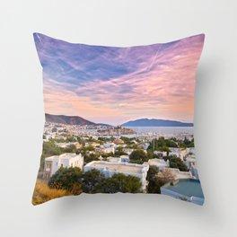 Bodrum Castle Throw Pillow