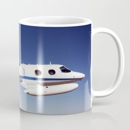 NASA Dryden Flight Research Centers Lear 24 tail number 805 in flight Coffee Mug