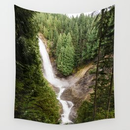 PNW Waterfall Wall Tapestry