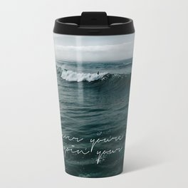 Surfing Ocean Beach San Diego Travel Mug
