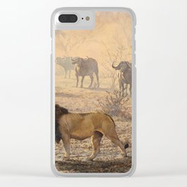 On Patrol by Alan M Hunt Clear iPhone Case