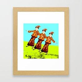 Free Spirits 2 Framed Art Print