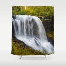 Silky waterfall Shower Curtain