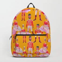 Nutcracker Ballet - Marigold Gold Yellow Backpack