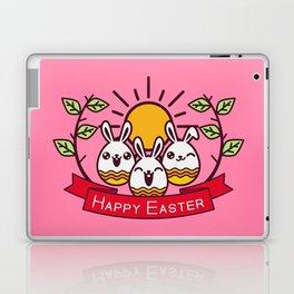 Happy Easter Happy Bunnies Laptop & iPad Skin