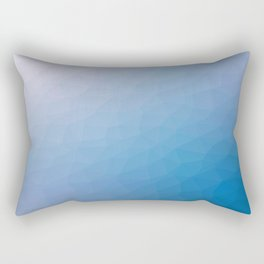 Blue flakes. Copos azules. Flocons bleus. Blaue flocken. Голубые хлопья. Rectangular Pillow