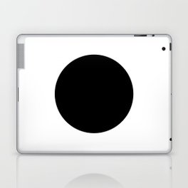 The Circle – Black Laptop & iPad Skin