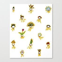 Dead Vegetation  Canvas Print