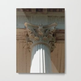 Corinth Column Metal Print