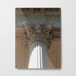 Corinth Column Metal Print