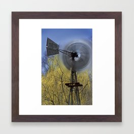Spinning in the Wind Framed Art Print