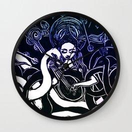 Sarasvati Lullaby Wall Clock