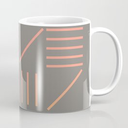 Geometric Shapes 12 Gradient Coffee Mug