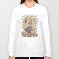 over the garden wall Long Sleeve T-shirts featuring Over the Garden Wall by Hamish Steele