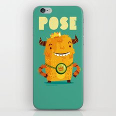 :::Pose Monster::: iPhone & iPod Skin